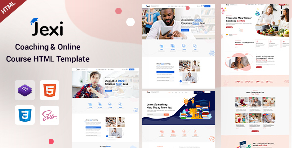[Free Download] Jexi – Online Coaching & LMS HTML Template (Nulled) [Latest Version]