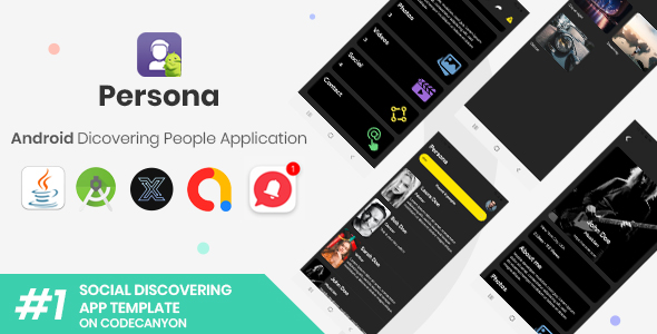 [Free Download] Persona | Android Discovering People Application [XServer] (Nulled) [Latest Version]