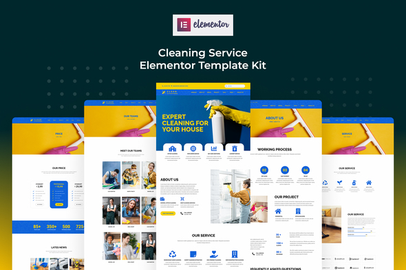 [Free Download] Cserv – Cleaning Service Elementor Template Kit (Nulled) [Latest Version]
