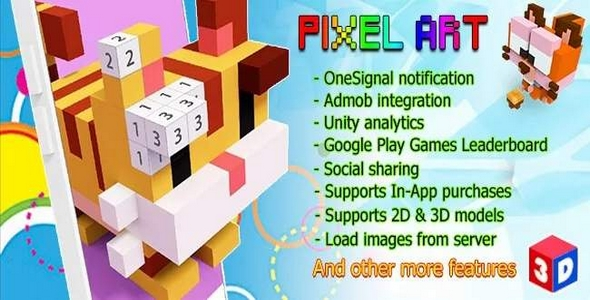 [Free Download] Pixel Art – Number Coloring 3D + 2D + Full Monetization features (Nulled) [Latest Version]