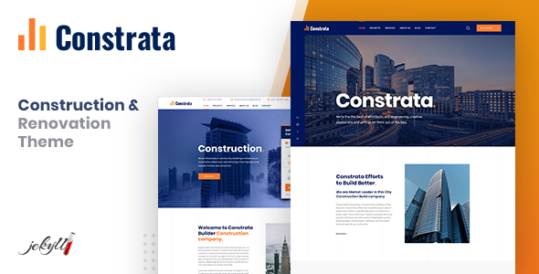 [Free Download] Constrata – Construction & Renovation Jekyll Template (Nulled) [Latest Version]