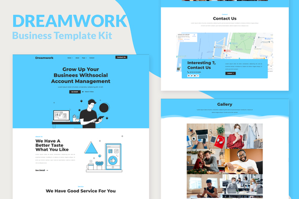 [Free Download] Dreamwork – Business Management Elementor Template Kit (Nulled) [Latest Version]