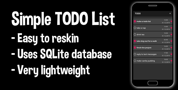 [Free Download] Simple TODO List (Android Source Code)-task management checklist that can help you to stay organized (Nulled) [Latest Version]