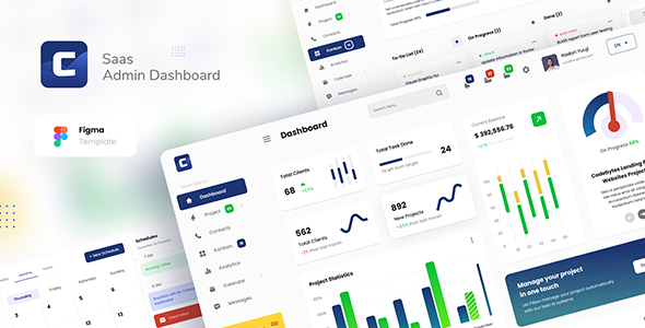 [Free Download] Codebyte – Saas Admin Dashboard UI Template Figma (Nulled) [Latest Version]