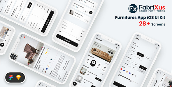 [Free Download] FabriXus – Furniture eCommerce Mobile App UI (Nulled) [Latest Version]