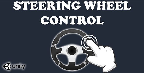 [Free Download] Virtual Steering Wheel Controller (Unity Source code)-mobile ready simple input touch control system (Nulled) [Latest Version]