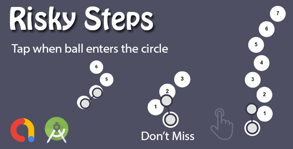 [Free Download] Risky Step : Circle Path Game (Nulled) [Latest Version]