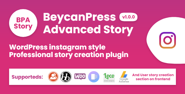 [Free Download] BeycanPress Advanced Story – Creating stories in WordPress instagram style (Nulled) [Latest Version]