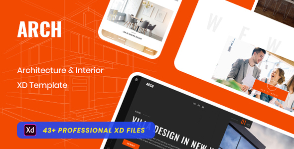 [Free Download] Eureka_Architecture & Interior XD Template (Nulled) [Latest Version]