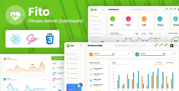 [Free Download] Fito – Fitness Admin Dashboard React Template (Nulled) [Latest Version]