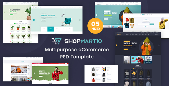 [Free Download] ShopMartio – Multipurpose eCommerce PSD Template (Nulled) [Latest Version]