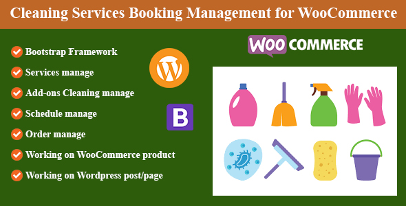 [Free Download] Cleaning Services Booking Management for WordPress and WooCommerce (Nulled) [Latest Version]