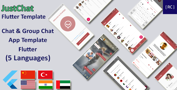 [Free Download] Chat & Group Chat App Template Flutter | Whatsapp Clone Flutter Template | Multi Language (Nulled) [Latest Version]