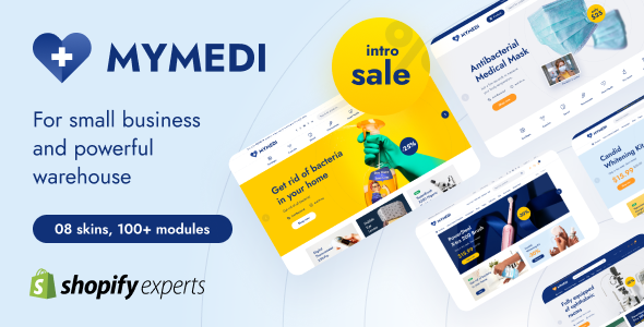 [Free Download] MyMedi Responsive Multi Languages Shopify Theme (Nulled) [Latest Version]