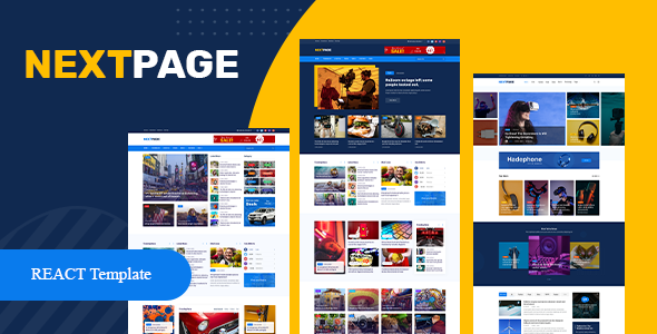 [Free Download] Nextpage React – Magazine & Newspaper Template (Nulled) [Latest Version]