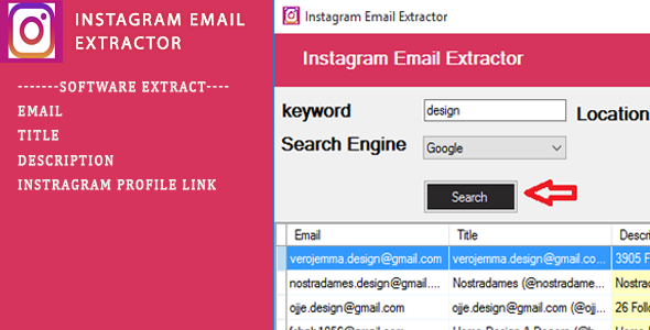 [Free Download] Instagram Email Scraping Tool (Nulled) [Latest Version]