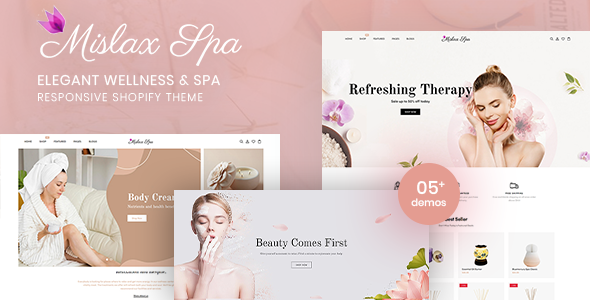 [Free Download] Mislax Spa – Elegant Spa And Wellness Shopify Theme (Nulled) [Latest Version]