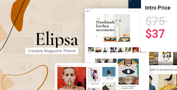 [Free Download] Elipsa – Creative Magazine Theme (Nulled) [Latest Version]