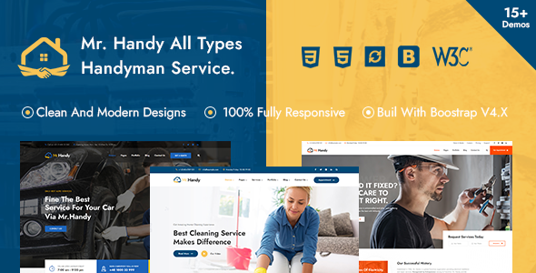 [Free Download] MrHandy – Handyman Multi-Services HTML Template (Nulled) [Latest Version]