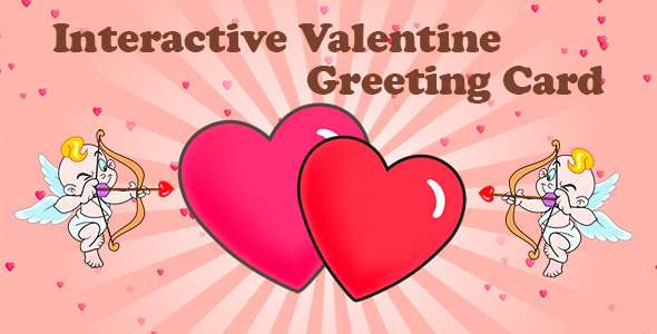 [Free Download] Interactive Valentine Greeting Card (Nulled) [Latest Version]