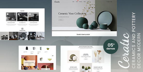 [Free Download] Ceratic – Ceramics & Pottery Decor Shopify Theme (Nulled) [Latest Version]