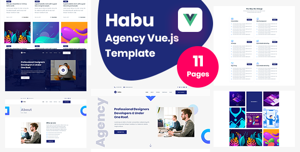 [Free Download] Habu  – Agency Vuejs Template (Nulled) [Latest Version]