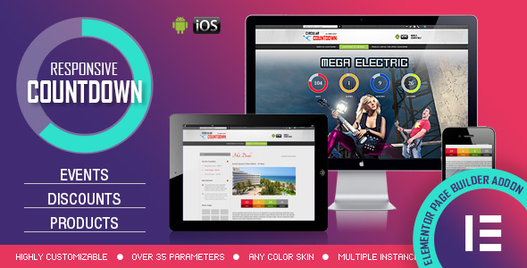 [Free Download] Elementor Widget – CountDown PRO – Events/Products Launch (Nulled) [Latest Version]