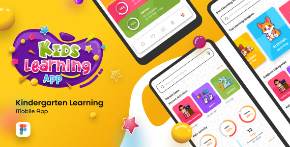 [Free Download] Back2School | Kids Learning App Figma Template (Nulled) [Latest Version]