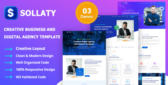 [Free Download] Sollaty – Laravel Business & IT Solutions Company CMS Script (Nulled) [Latest Version]