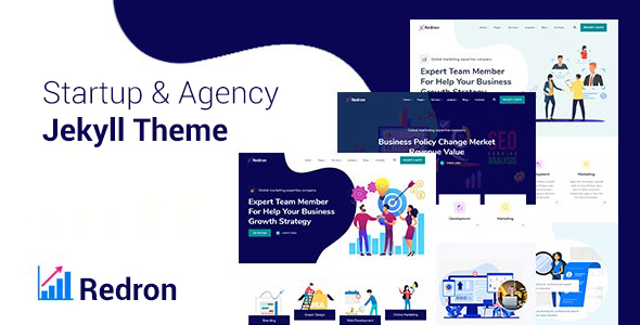 [Free Download] Redron – Startup & Agency Bootstrap 5 Jekyll Theme (Nulled) [Latest Version]