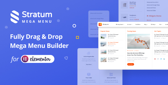 [Free Download] Stratum Mega Menu for Elementor (Nulled) [Latest Version]