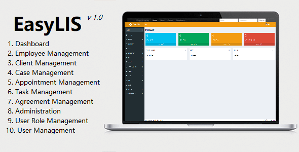 [Free Download] EasyLIS – Legal Information System/Law Office (Nulled) [Latest Version]