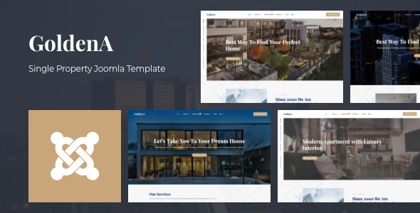 [Free Download] GoldenA – Single Property Joomla Template (Nulled) [Latest Version]