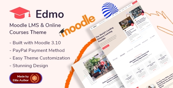 [Free Download] Edmo – Moodle LMS & Online Courses Theme (Nulled) [Latest Version]
