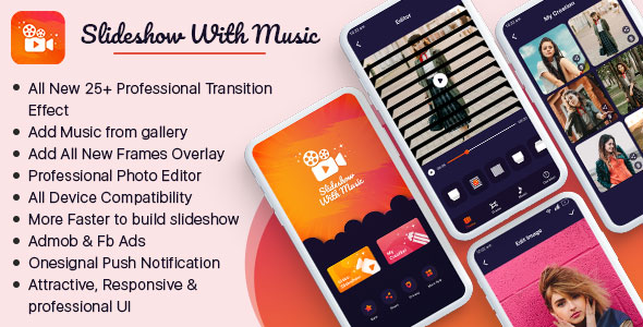 [Free Download] Slideshow With Music (with new 25+ professional slideshow transition effects) (Nulled) [Latest Version]
