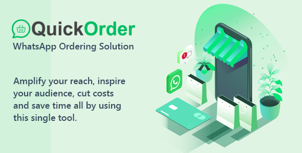 [Free Download] QuickOrder – WhatsApp Ordering Addon (Nulled) [Latest Version]
