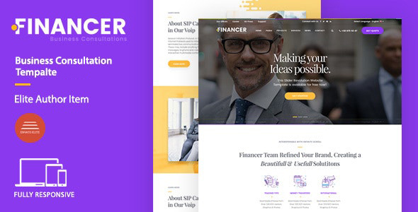 [Free Download] Financer | Business Consultations Joomla Template (Nulled) [Latest Version]