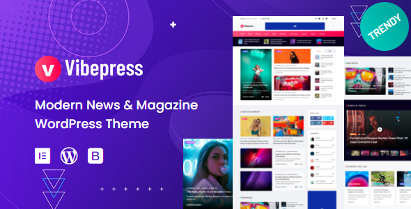 [Free Download] Vibepress – Modern Magazine WordPress Theme (Nulled) [Latest Version]