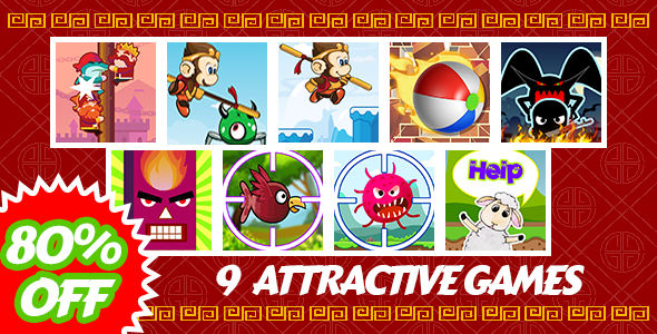 [Free Download] Mega Lunar Year Bundle – 9 Attractive Unity Games – Admob + Facebook Ads Ready (Nulled) [Latest Version]