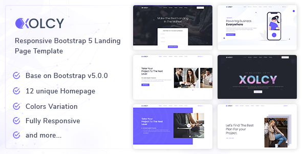 [Free Download] Xolcy – Bootstrap5 Creative Landing Page Template (Nulled) [Latest Version]