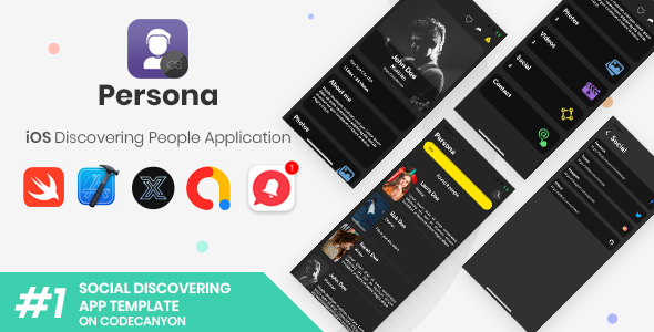 [Free Download] Persona   iOS Discovering People Application [XServer] (Nulled) [Latest Version]