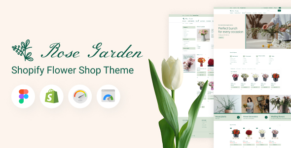 [Free Download] RoseGarden – Shopify Flower Shop Theme (Nulled) [Latest Version]