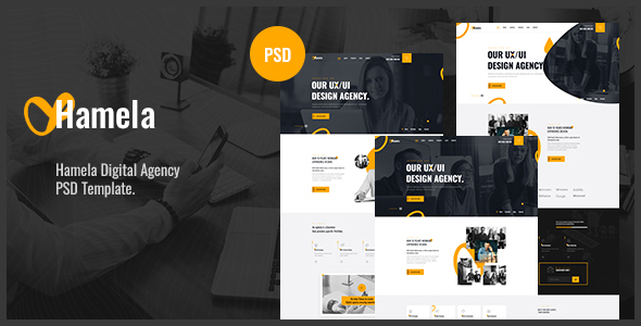 [Free Download] Hamela – Digital Agency Services PSD Template (Nulled) [Latest Version]