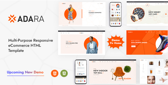 [Free Download] Adara – Modern & Multipurpose eCommerce Template (Nulled) [Latest Version]