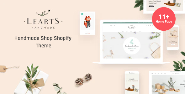 [Free Download] Learts – Handmade Shop Shopify Theme (Nulled) [Latest Version]