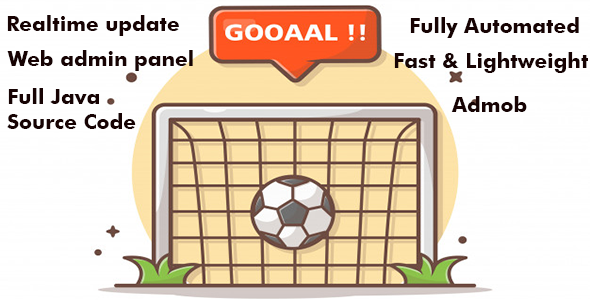 [Free Download] Goal Rush App – Real-time Goal Videos (Nulled) [Latest Version]