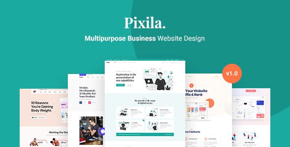 [Free Download] Pixila – Creative Multipurpose HTML Template (Nulled) [Latest Version]