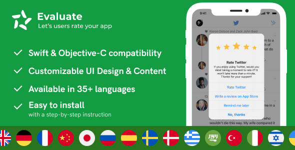 [Free Download] Evaluate – Rate & Review Add-on for iOS (Nulled) [Latest Version]