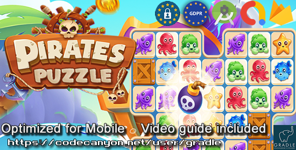 [Free Download] Puzzle Pirate (Admob + GDPR + Android Studio) (Nulled) [Latest Version]