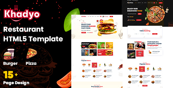 [Free Download] Khadyo – Restaurant HTML5 Template (Nulled) [Latest Version]